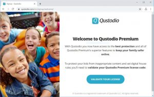 qustodio validate license