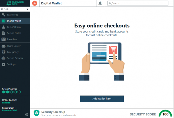 Add a digital wallet
