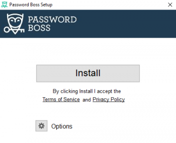 Click to install Password Boss on your computer