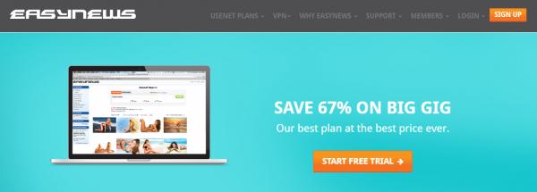 Easynews Usenet provider