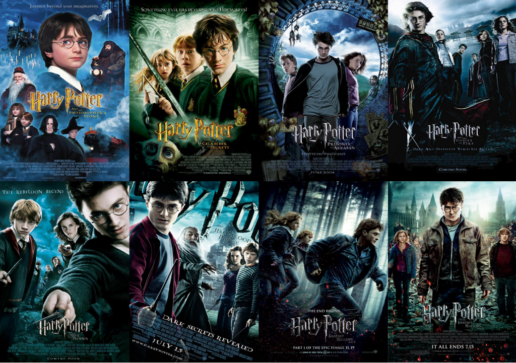 harry potter streaming