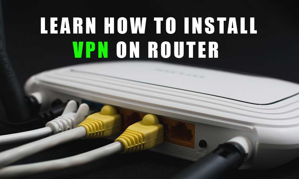 INSTALL ROUTER