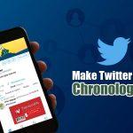 Make Twitter Feed Chronological