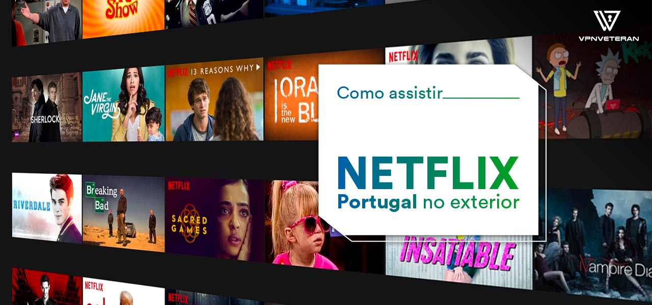 Netflix Portugal no exterior