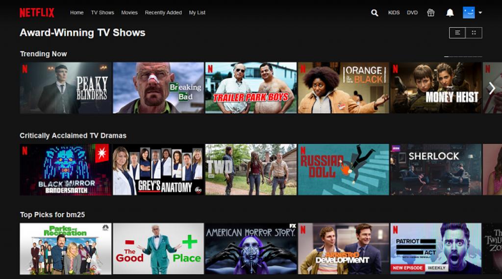 Netflix Amerika izleme için VPN kullanın