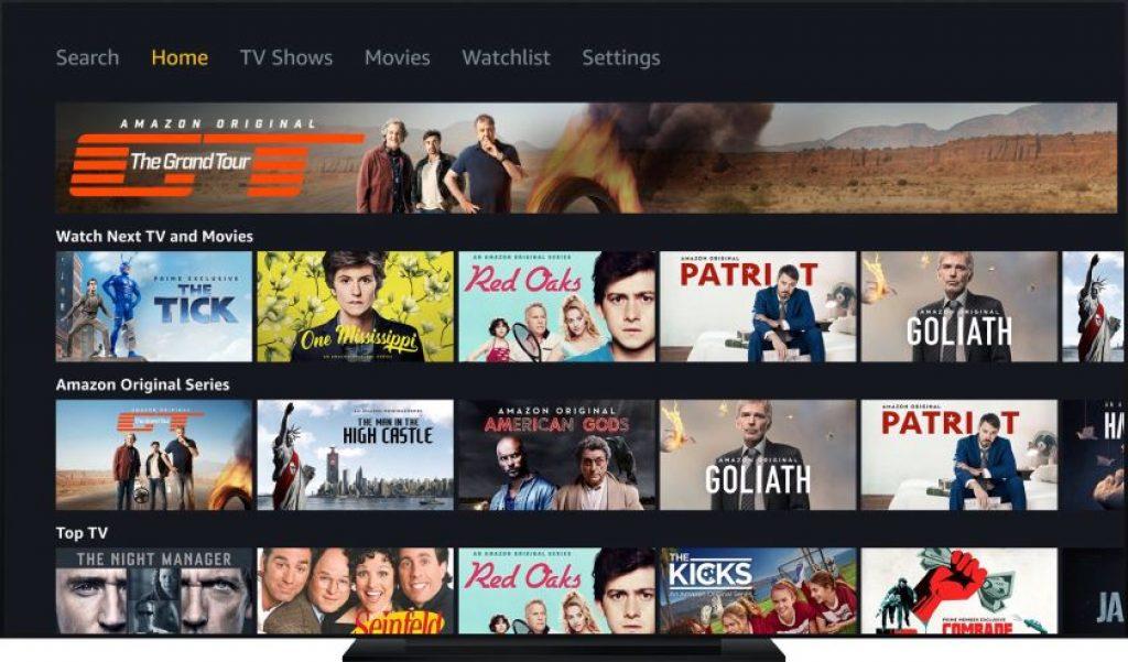Streaming Amazon Prime