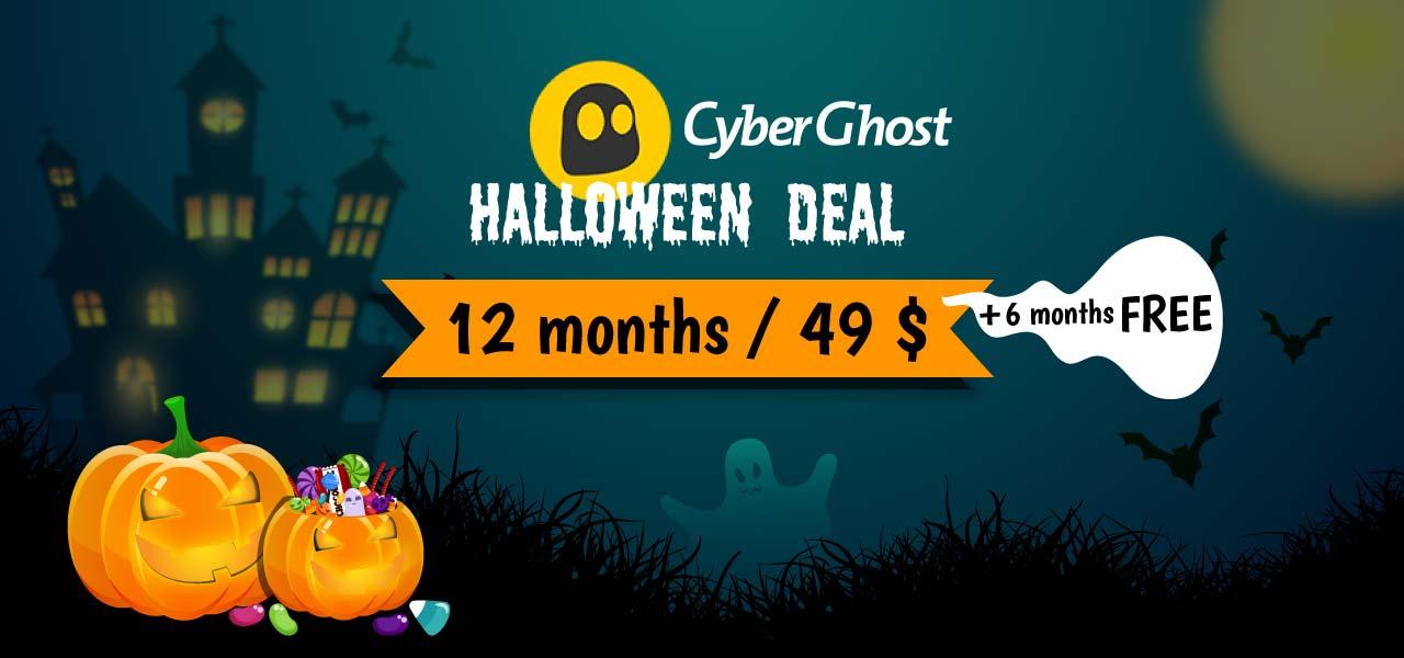 cyberghost halloween deal