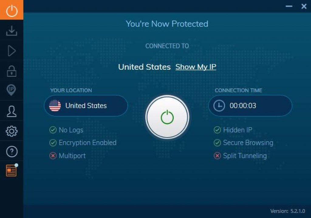 vpn ivacy interface
