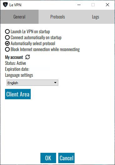 Configuración Le VPN