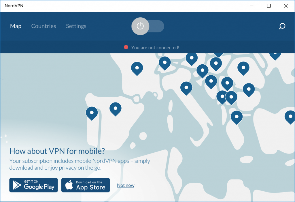 nordvpn interface