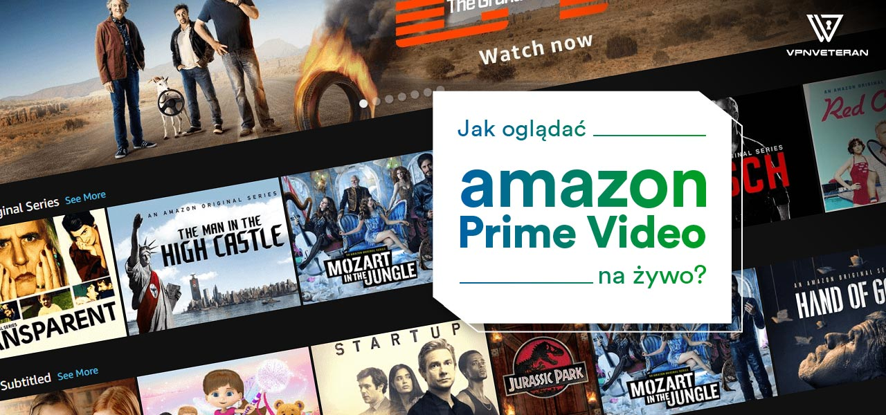 ogladaj amazon prime video polska