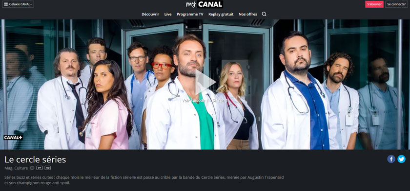 regarder canal plus en streaming