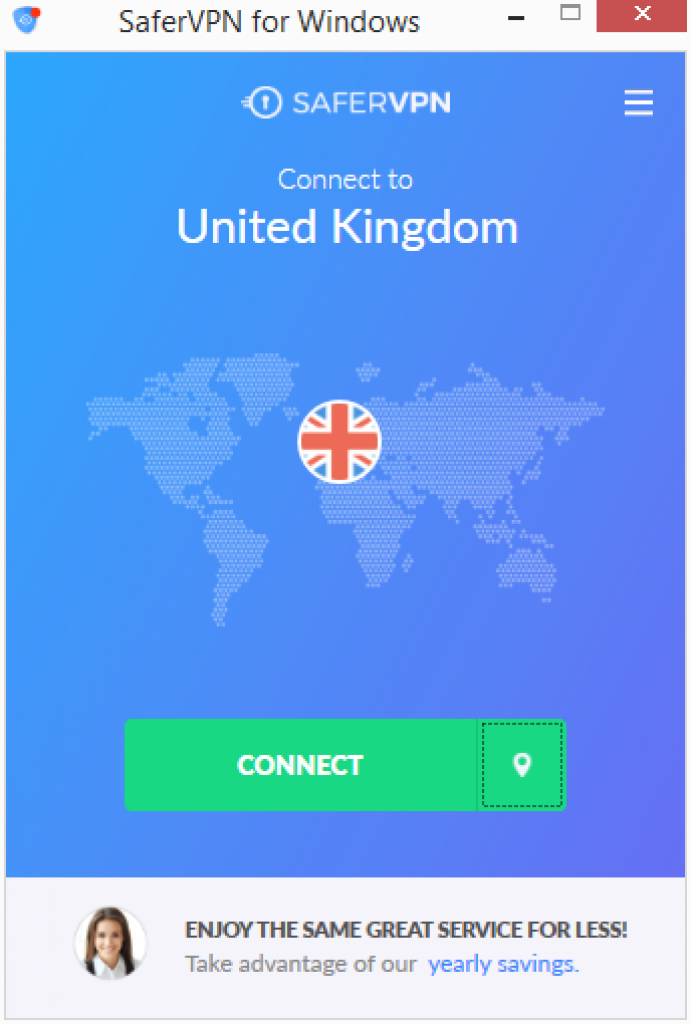 safervpn interface