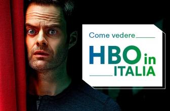 Come sbloccare e accedere a HBO dall'Italia
