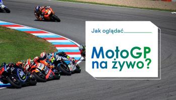 Oglądaj Moto GP na żywo