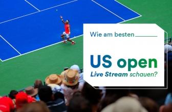 US Open Live Stream schauen – so geht's